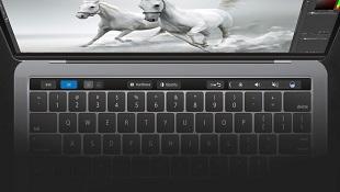Adobe chính thức tích hợp Touch Bar vào Photoshop