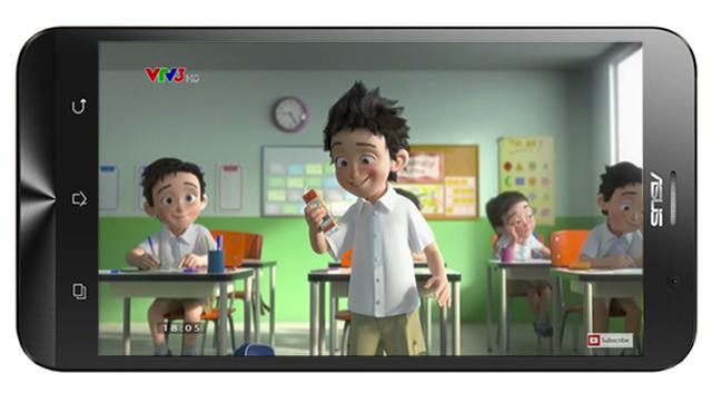 ASUS ra ZenFone Go TV – smartphone bắt sóng truyền hình không cần Internet