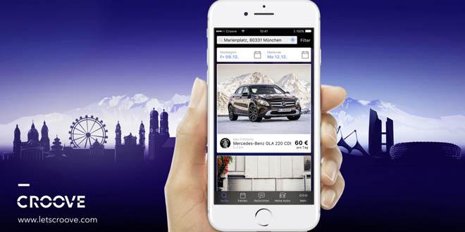 Mercedes-Benz giới thiệu ứng dụng cho thuê xe Croove