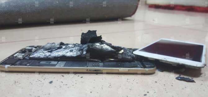 iPhone cháy