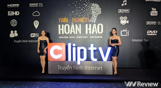 Truyền hình Internet Clip TV ra mắt với 100% nội dung bản quyền