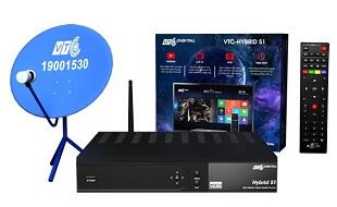 """VTC ra mắt bộ thu truyền hình """"3 trong 1"""" VTC Hybrid S1"""