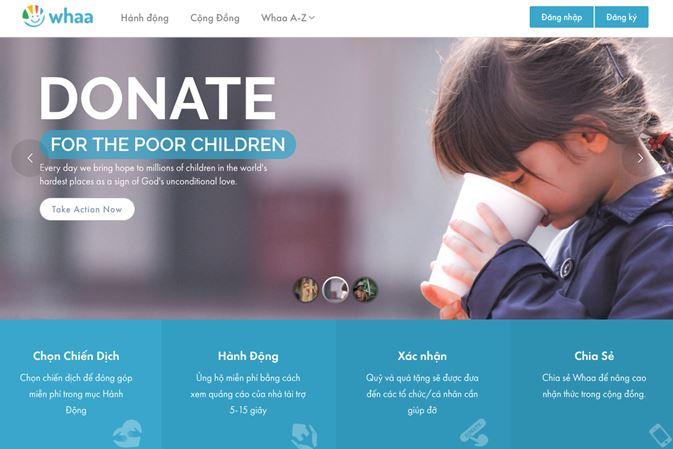 Làm từ thiện thời công nghệ