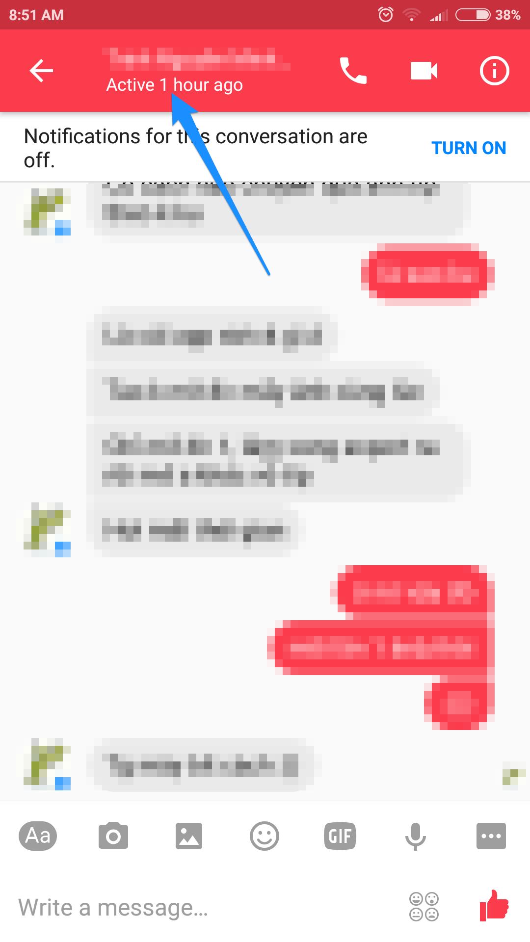 cách ẩn online trên messenger