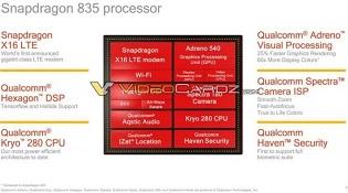 Qualcomm Snapdragon 835 lộ chi tiết trước thềm CES 2017