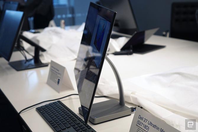 Dell giới thiệu màn hình 27 inch siêu mỏng, hỗ trợ USB-C