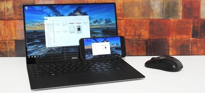 Biến điện thoại Android thành màn hình thứ 2 cho máy tính Windows