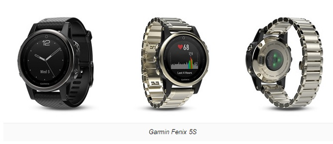 [CES 2017]: Garmin ra mắt loạt smartwatch Fenix 5, 5X, và 5S