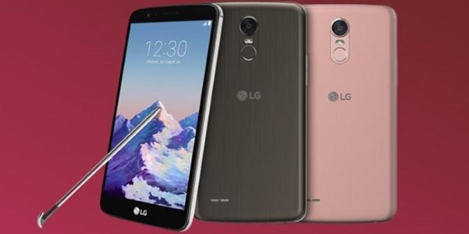 [CES 2017]: LG chính thức trình làng Stylo 3, có bút Stylus