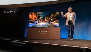 [CES 2017] Sony giới thiệu TV OLED Bravia 4K, tích hợp loa trên đèn nền OLED