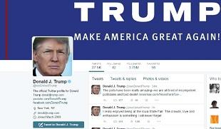 Tổng thống đắc cử Trump mở đầu cho lối 'ngoại giao Twitter'