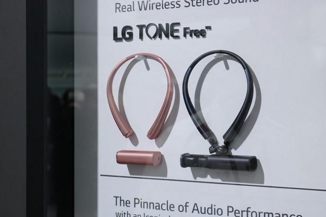 [CES 2017] LG Tone Free: câu trả lời của LG dành cho AirPod