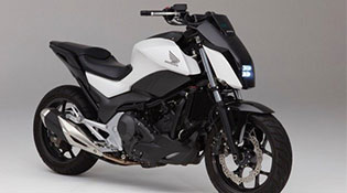 Honda giới thiệu mẫu xe máy biết tự cân bằng tại CES 2017