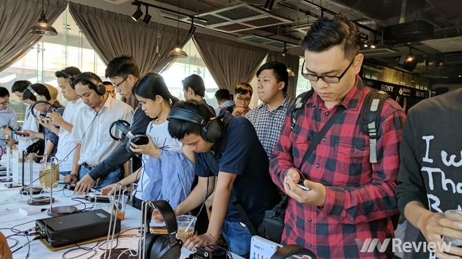 Sony giới thiệu loạt sản phẩm Hi-res Audio tại TP.HCM