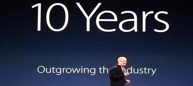 10 năm iPhone ra đời: Thiết bị đã thay đổi cả thế giới