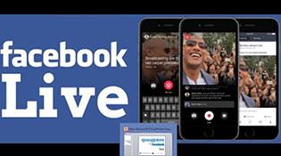 Trào lưu live stream trên Facebook tại Việt Nam sắp bùng nổ mạnh hơn nhờ mạng 4G