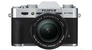 Rò rỉ thông số chiếc mirrorless Fujifilm X-T20