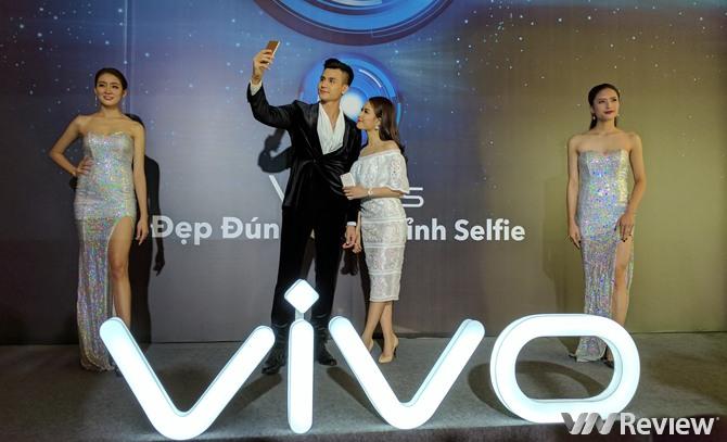 Vivo V5Plus ra mắt với camera selfie kép xóa phông, giá 10 triệu đồng