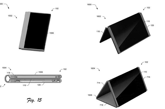 Lộ bằng sáng chế có thể là Suface Phone của Microsoft
