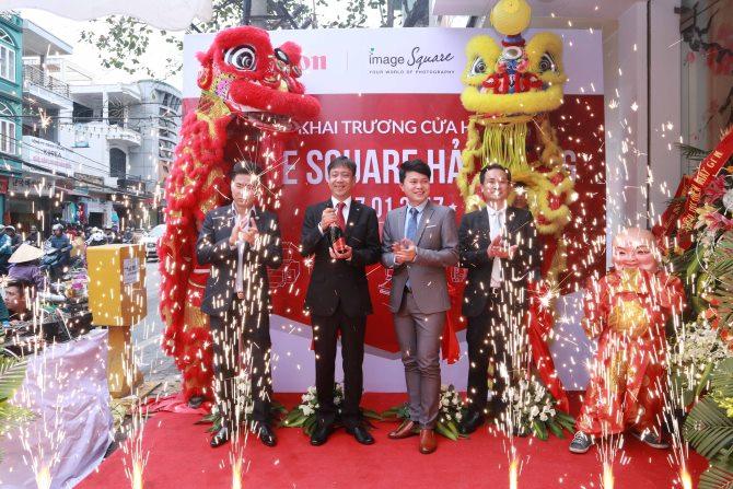 Canon khai trương cửa hàng Image Square đầu tiên tại Hải Phòng