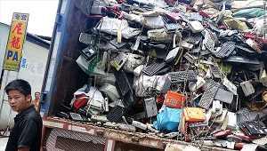 Rác thải điện tử tràn ngập khắp châu Á
