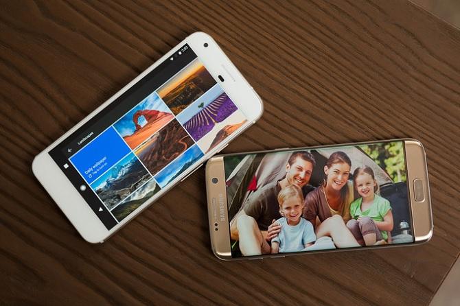 So sánh chi tiết Google Pixel XL và Samsung Galaxy S7 Edge