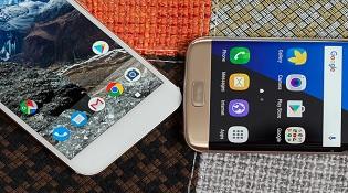 Đọ chi tiết Google Pixel XL và Samsung Galaxy S7 Edge