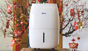 Trải nghiệm nhanh máy hút ẩm FujiE-920EC: có màng lọc HEPA, giá 5,99 triệu đồng