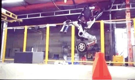 Ấn tượng Robot có thể nhảy cao như Kangaroo
