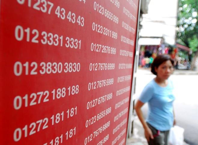 Thuê bao di động 11 số sắp được đổi mã mạng còn 10 số