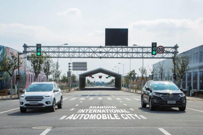 Ford thử nghiệm công nghệ hỗ trợ lái xe an toàn hơn khi qua các điểm giao cắt