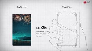 LG tung quảng cáo LG G6: màn hình lớn nhưng vừa tay