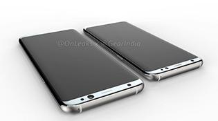 Lộ loạt ảnh dựng toàn diện của Galaxy S8 và S8 Plus