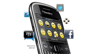 RIM giới thiệu BlackBerry Curve 9320 tầm trung