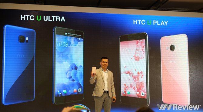 HTC U Ultra và U Play tại Việt Nam giá 18,5 và 11,5 triệu đồng