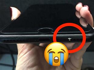 Nhiều người dùng than phiền iPhone 7 đen mờ rất dễ tróc sơn
