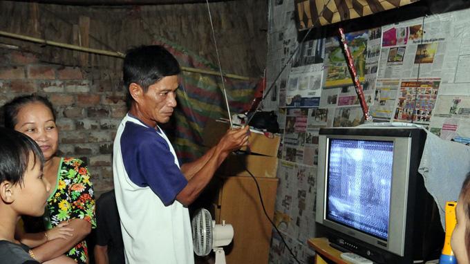 Ngừng phát sóng truyền hình analog tại 15 tỉnh