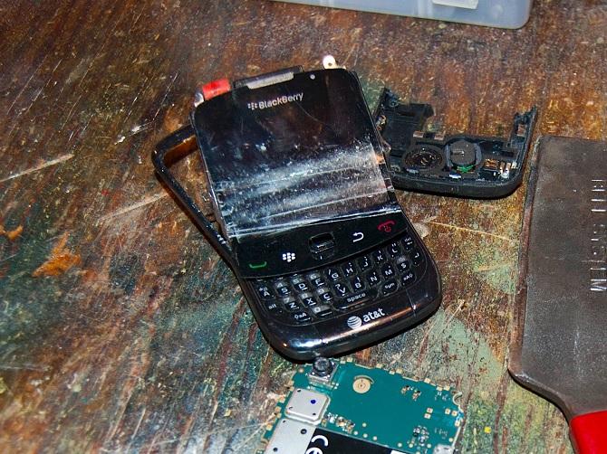 Thị phần smartphone BlackBerry toàn cầu chính thức bằng 0%