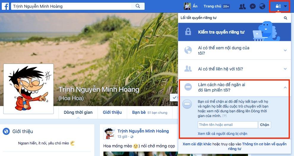 Làm thế nào để chặn ai đó trên Facebook? - ảnh 5
