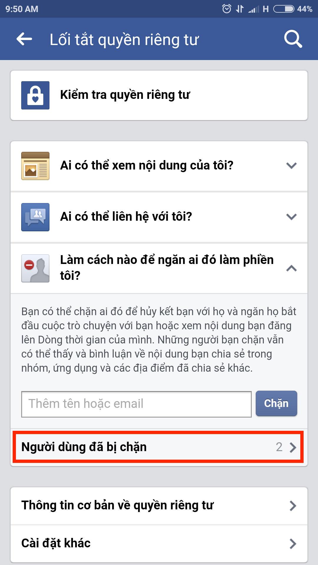 Làm thế nào để chặn ai đó trên Facebook? - ảnh 9
