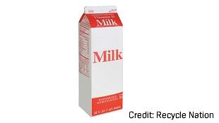 Bạn có biết mình đang vứt hộp sữa giấy sai cách?