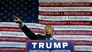 Tổng thống Donald Trump đang sở hữu tới... 3.643 tên miền