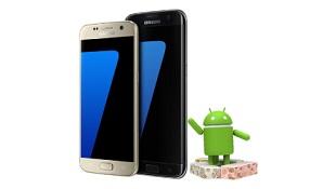 Lộ trình cập nhật Android 7.0 Nougat cho dòng Samsung Galaxy