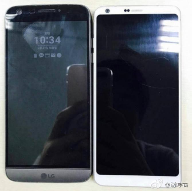 Lộ diện phiên bản màu đen và ảnh chụp LG G6 đặt cạnh LG G5