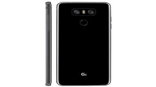 LG G6 lộ diện bản màu đen và ảnh chụp đặt cạnh LG G5