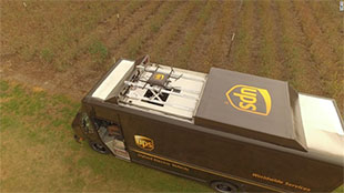 UPS bắt đầu thử nghiệm giao hàng bằng drone