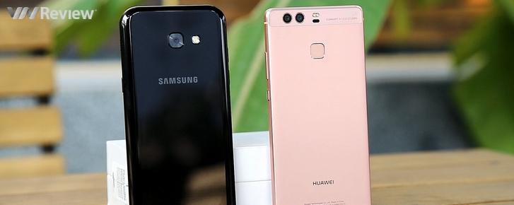 So hiệu năng Samsung Galaxy A5 2017 và Huawei P9