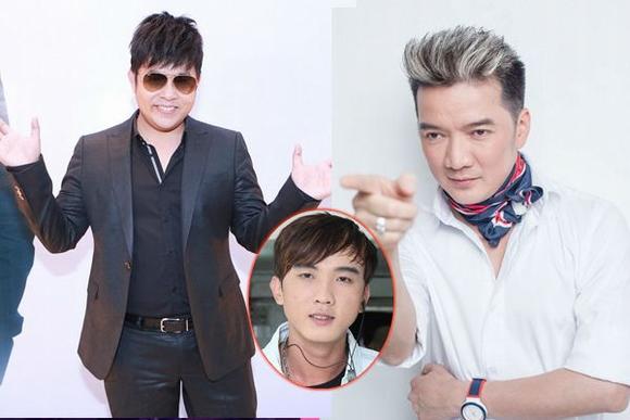 """Quang Lê và Đàm Vĩnh Hừng từng có làm nổ ra một cuộc """"khẩu chiến"""" đầy ầm ĩ trên Facebook chỉ vì một cậu học trò. Ảnh: TL."""