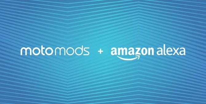 Motorola công bố Moto Mods mới, bao gồm cả tùy chọn Amazon Alexa và Gamepad
