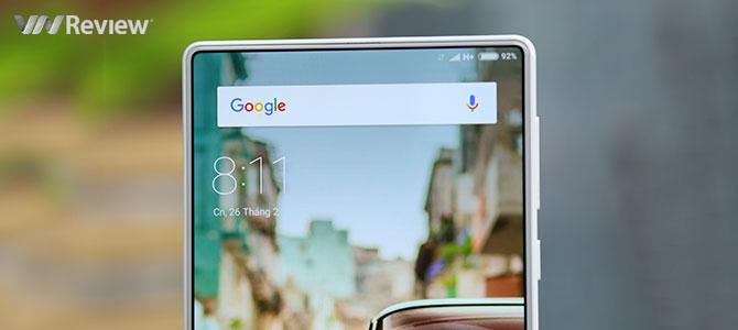 Trên tay Xiaomi Mi Mix màu trắng tinh khôi đầu tiên về Việt Nam